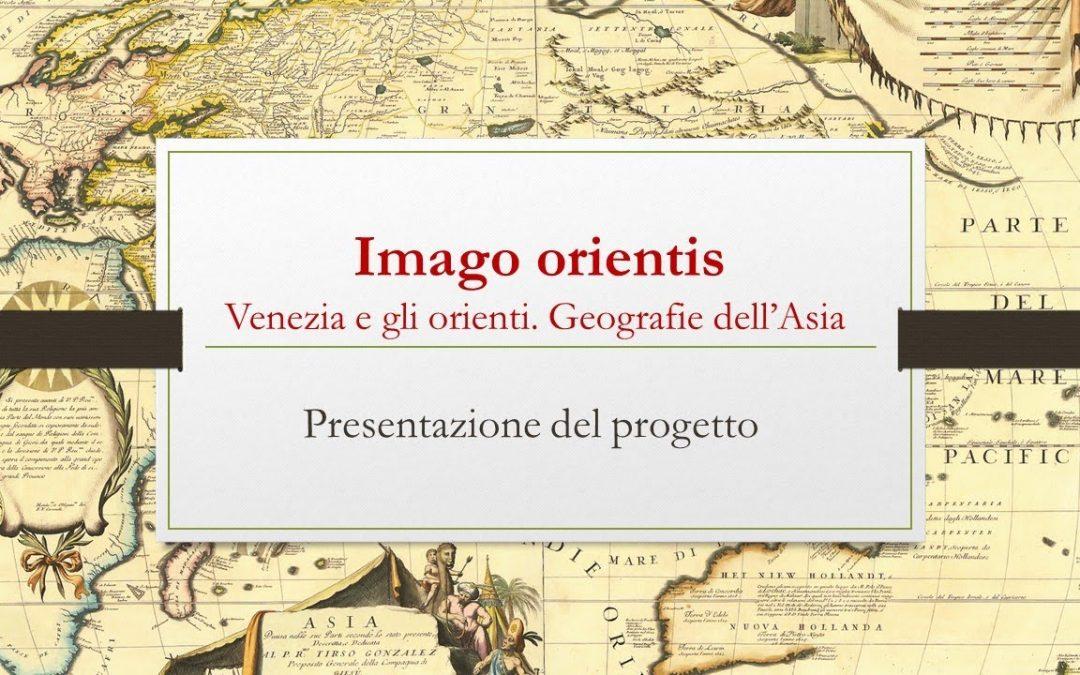 """Presentazione Volume """"Venezia e gli Orienti. Geografie dell'Asia"""""""