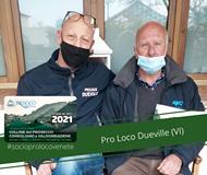 """Potrebbe essere un'immagine raffigurante 2 persone, attività all'aperto e il seguente testo """"UNPLI PROLOCO NATIONAL F D'ITALIA PROLOCO DUEVILIE TESSERA SOCIO 2021 COLLINE del PROSECCO CONEGLIANO VALDOBBIADENE #socioprolocovenete Pro Loco Dueville (VI)"""""""