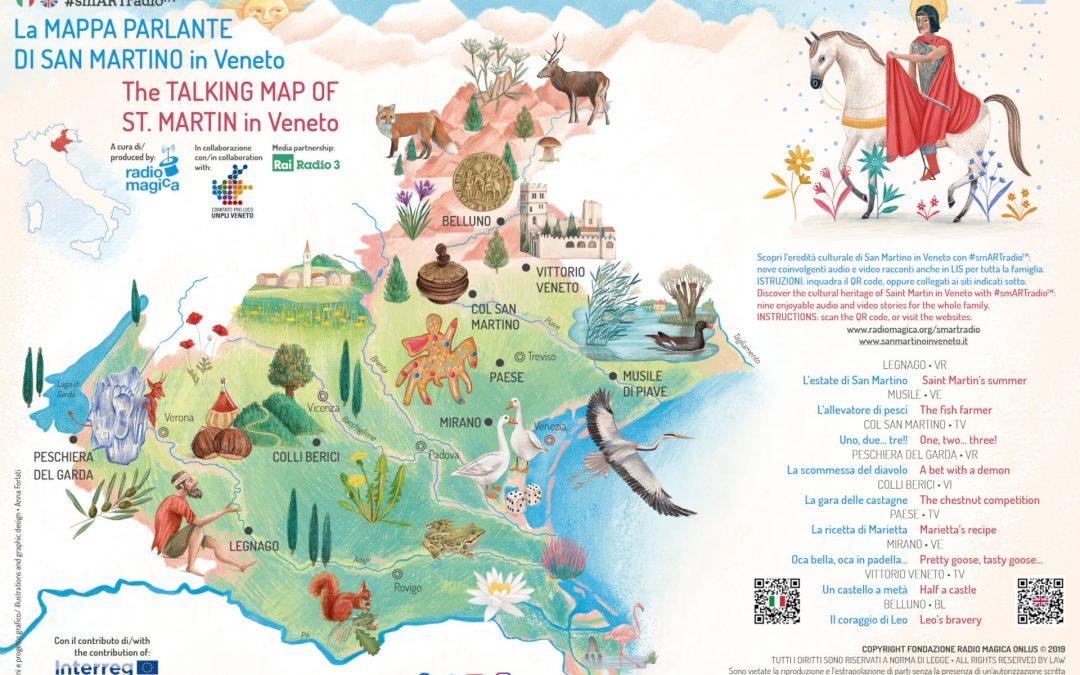 La Mappa Parlante di San Martino in Veneto – #smARTradio – Radio Magica