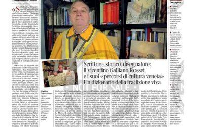 Oggi su Corriere del Veneto trovate un articolo, firmato da Giandomenico Cortese…