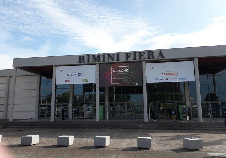 Questa mattina siamo presenti  alla Fiera TTG Rimini nello stand del Consorzio…